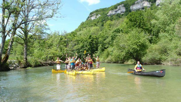 Outdoorcamp Französischer Jura