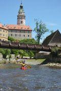 Kanutour Moldau
