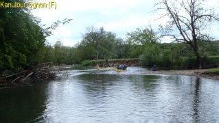 Kanutour Ognon Fluss