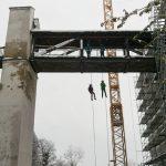 Klassenfahrt - Donautal-Abseilen Burgbrücke