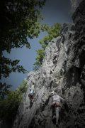 Klassenfahrt - Donautal-Klettern