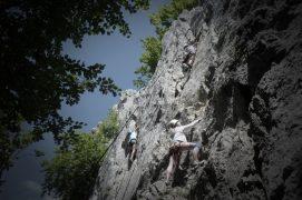 Klassenfahrt - Donautal-Klettern-Verlobungsfelsen