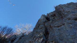 Klettern und Abseilen