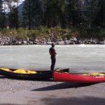 Teamtraining im Kanu - Lech