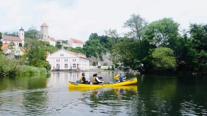 Kanukurs Donau