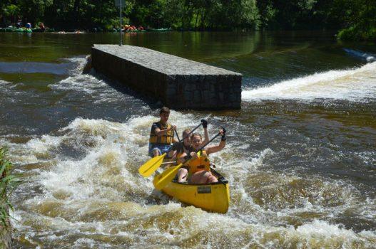 Kanu-Event Moldau