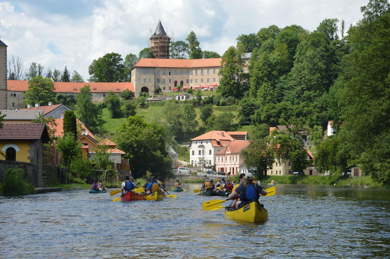 Kanu Event Moldau