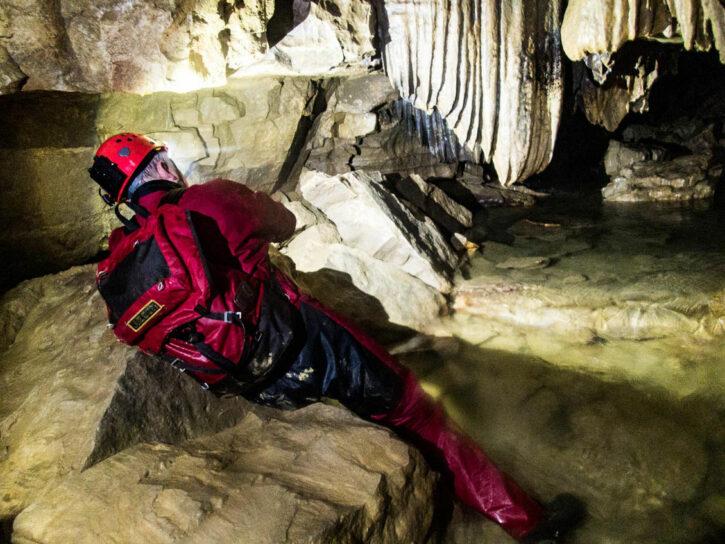 Unser Teambuilding in der Falkensteiner Höhle-