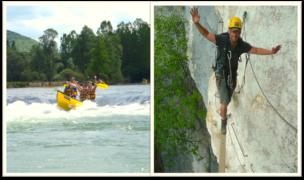Outdoor Camp mit Klettersteig, Kanutouren, Trekking. Outdoor Adventure in Frankreich. Kommt mit in den Französischen Jura.