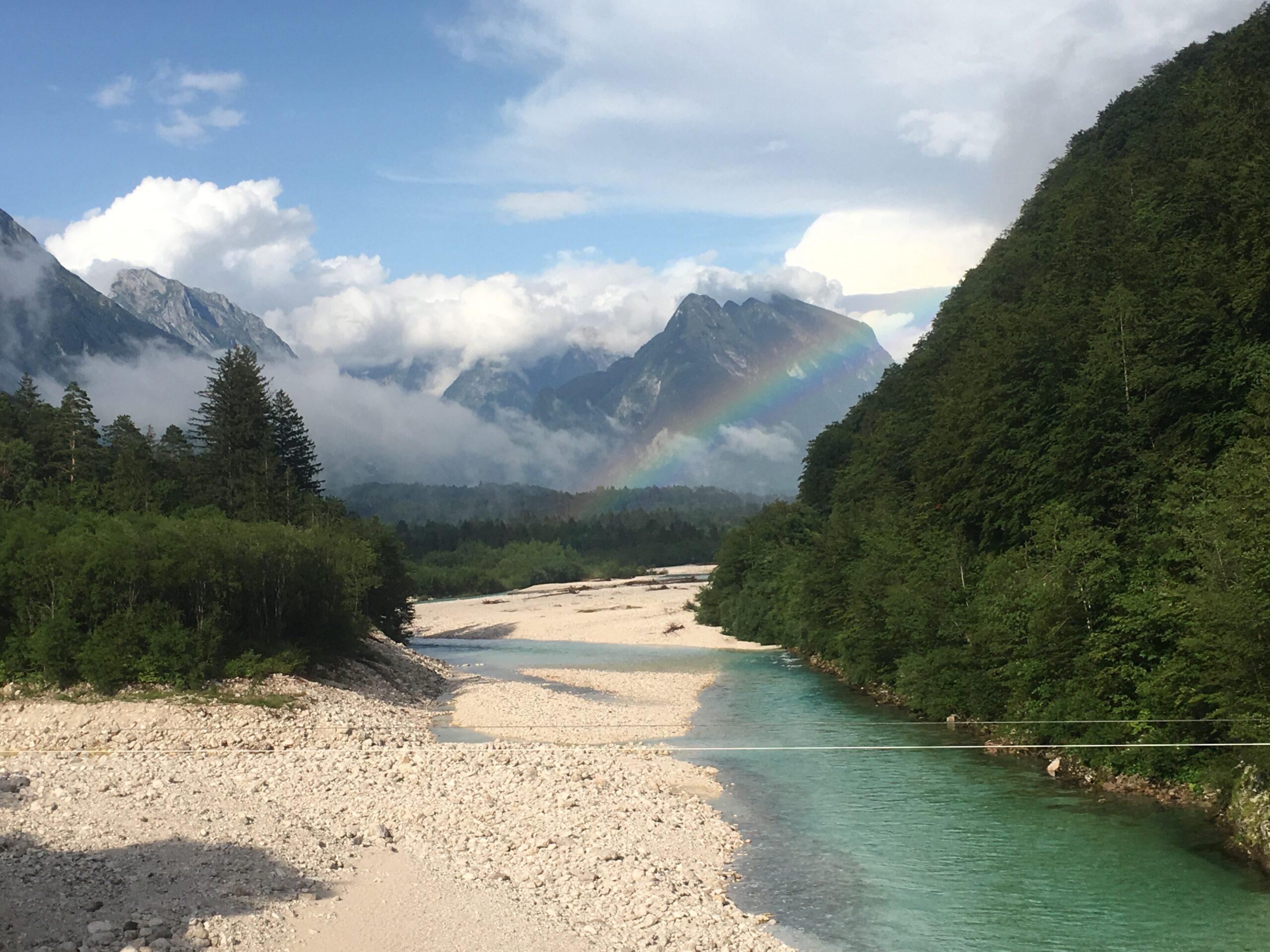 Coaching-Reise-Klettern-Rafting-Abseilen-Klettersteige-Abspruenge-wagen-Coaching-Urlaub-Retreat Urlaub in Slowenien